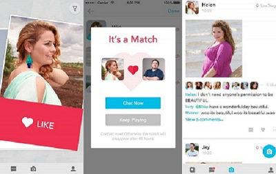 plus size dating app